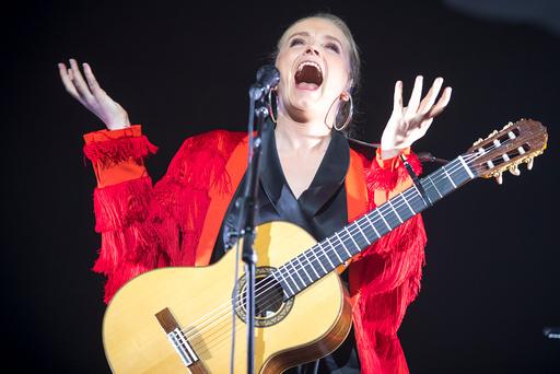 Ane Brun konsert i Oslo Spektrum