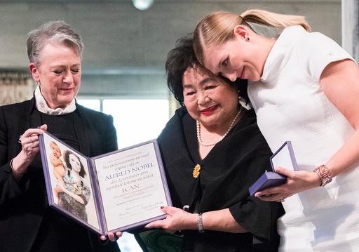 Nobels fredspris 2017 til ICAN