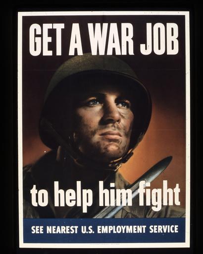 2.Wk., USA, Rekrutenwerbung / Plakat - WWII, USA, recruitment advertising -