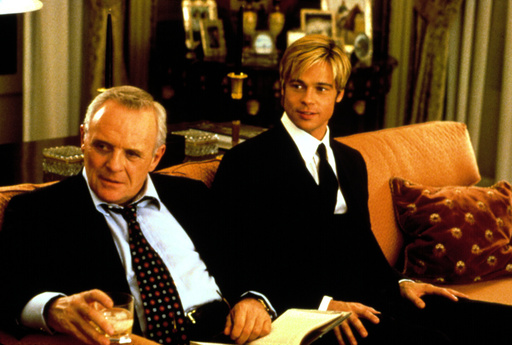 MEET JOE BLACK, Anthony Hopkins, Brad Pitt, 1998