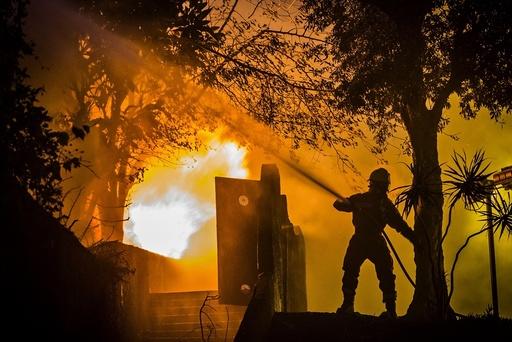 Wild fires on Madeira Island