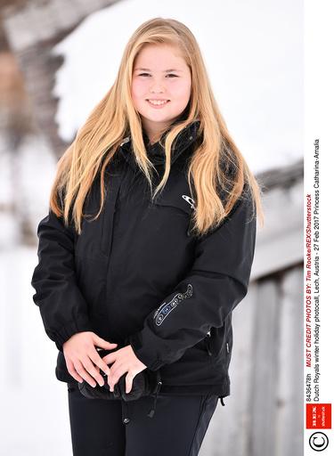 Dutch Royals winter holiday photocall, Lech, Austria - 27 Feb 2017