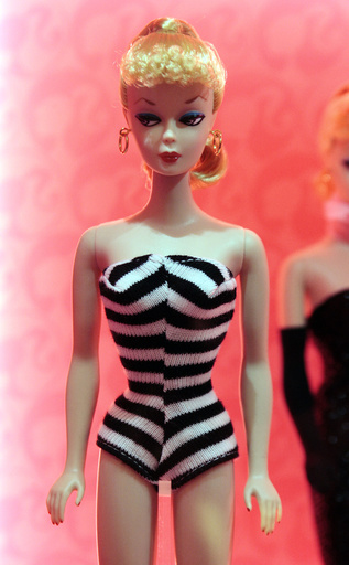 FRANCE-FASHION-TOY-EXHIBITION-BARBIE