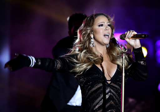 Singer Mariah Carey performs during the World Music Awards before receiving the Pop Icon Award in Monte Carlo