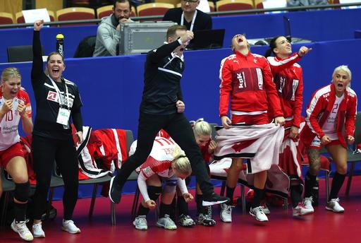 EM håndball kvinner i Sverige. Helsingborg Arena.