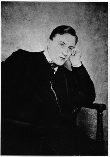 Carl von Ossietzky / Foto um 1923 - Carl von Ossietzky / photo c. 1923. -
