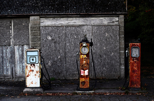 The Wider Image: Bringing old petrol stations back to life