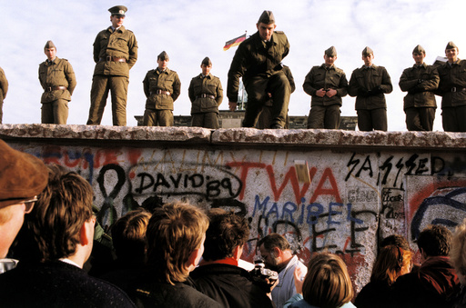 GERMANY. Berlin. Fall of Berlin wall.