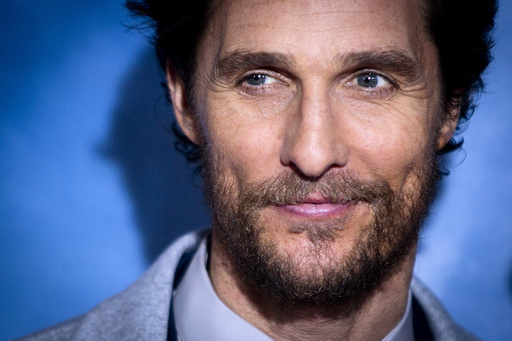 Cast member Matthew McConaughey arrives for the premiere of the film