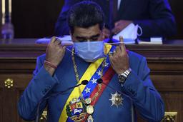 Venezuelas president Nicolás Maduro sier han håper på et bedre forhold til USA under Joe Biden. Landene brøt alle diplomatiske bånd i januar 2019. Foto: Matias Delacroix / AP / NTB