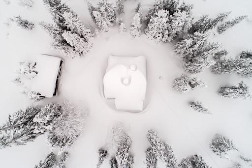 Snørik vinter