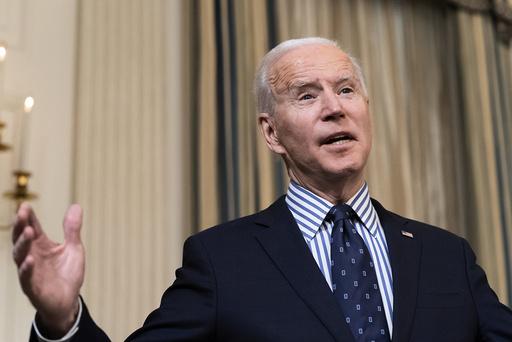Amerikanere flest mener at Joe Biden gjør en god jobb som president, viser ny måling. Foto: AP / NTB