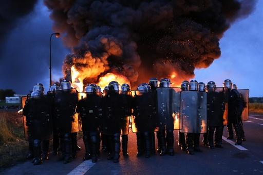 French Oil Refinery Strike