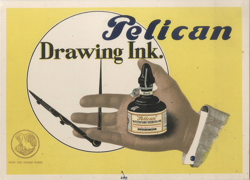 Pelican Ink by Lissitzky, El (1890-1941)