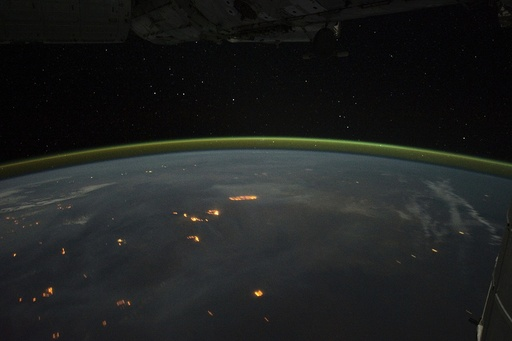 Wildfires, Australia , ISS image