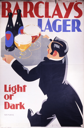Barclay's lager advert