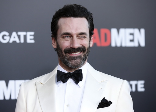 Actor Jon Hamm poses at the