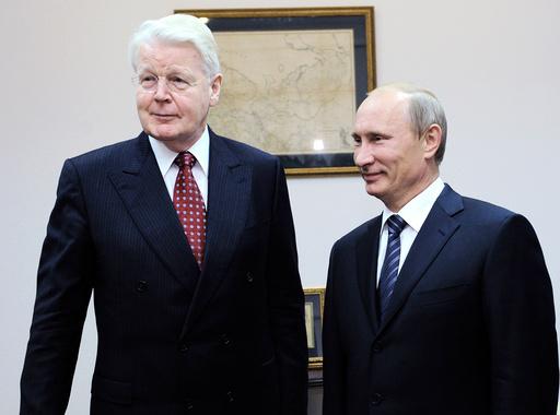 Vladimir Putin, Olafur Ragnar Grimsson