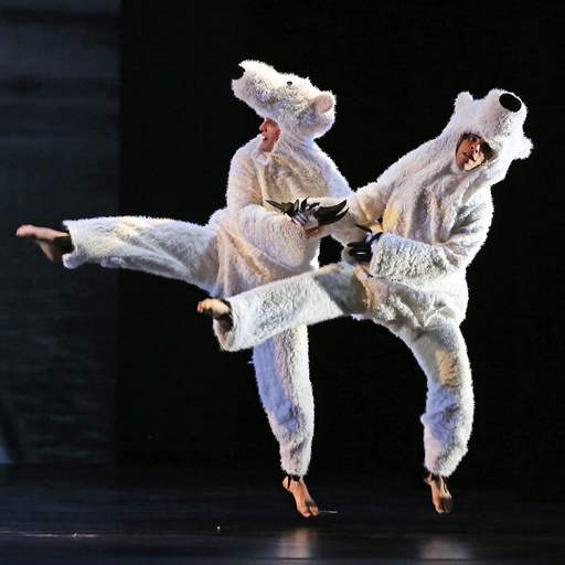 Michael Apuzzo, left, and Francisco Graciano at the David H. Koch Theater in New York.