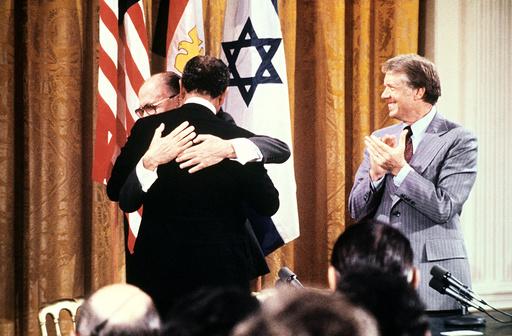 EGYPT-ISRAEL-PEACE-YEAR-CAMPDAVID