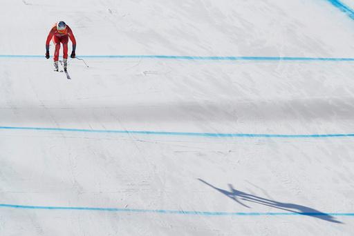 Vinter-OL. Olympiske leker i Pyeongchang 2018. Alpint menn.
