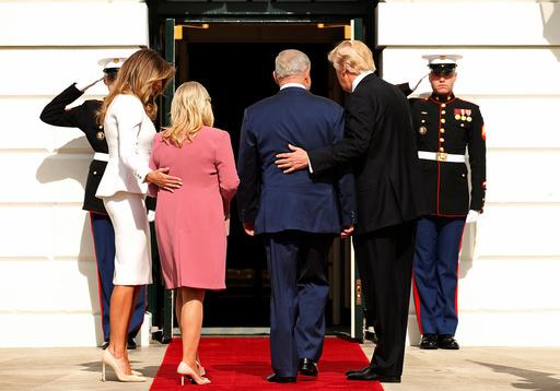 Trump meets Netanyahu at the White House in Washington