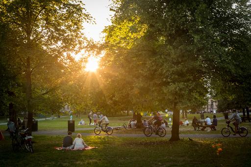 Sofienbergparken i Oslo