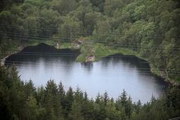 Askøy kommune er ilagt en bot på 1 million kroner etter det vannbårne smitteutbruddet i juni 2019. Foto: Marit Hommedal / NTB
