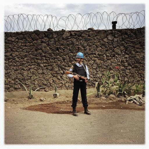 CONGO. Ban Ki Moon visits Goma.