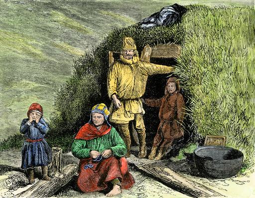 Lapland family, 1800s