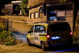 Politiet fikk melding om funnet av den omkomne i 19-tiden mandag. Foto: Marit Hommedal / NTB