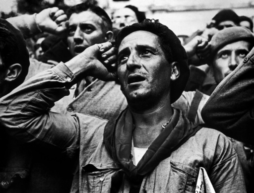 SPAIN. The Spanish Civil War.