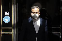 Irans viseutenriksminister Abbas Araghchi leder landets delegasjon til atomsamtalene i Wien. Foto: AP / NTB