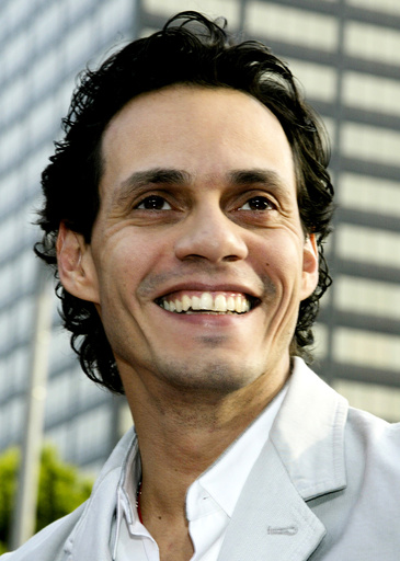 FILE PHOTO OF ACTOR MARC ANTHONY AT PREMIERE OF MAN ON FIRE IN LOS ANGELES