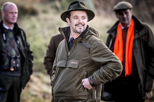 HRH Crown Prince Frederik hosts the traditional King's Hunt