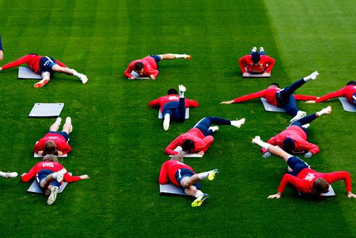 EM-KVALIFISERING FOTBALL