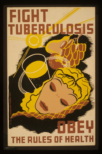 Fight tuberculosis - obey the rules of health