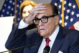 Donald Trumps advokat Rudy Giuliani. Foto: Jacquelyn Martin / AP / NTB