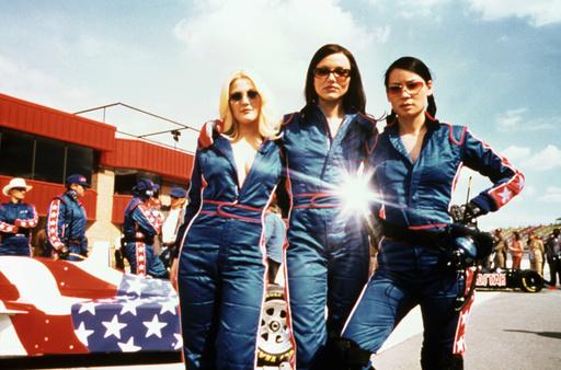 CHARLIE'S ANGELS, Drew Barrymore, Cameron Diaz, Lucy Liu, 2000