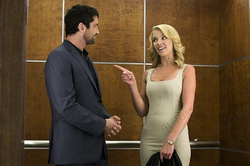 UGLY TRUTH, THE (2009), directed by ROBERT LUKETIC. KATHERINE HEIGL; GERARD BUTLER.