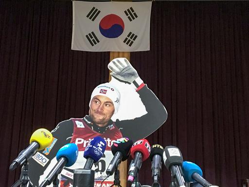 Vinter OL , Olympiske leker, i Pyeongchang 2018.