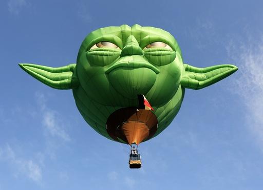 Hot Air balloon festival at Clark airfield