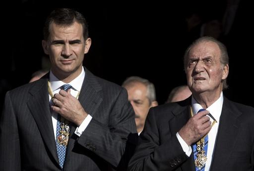 King Juan Carlos abdicates