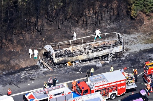Several people feared dead in bus crash in Germany