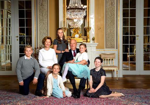 Kong Harald og dronning Sonja 80 år.