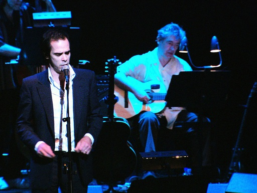 NICK CAVE in LEONARD COHEN: I'M YOUR MAN (2005), directed by LIAN LUNSON.