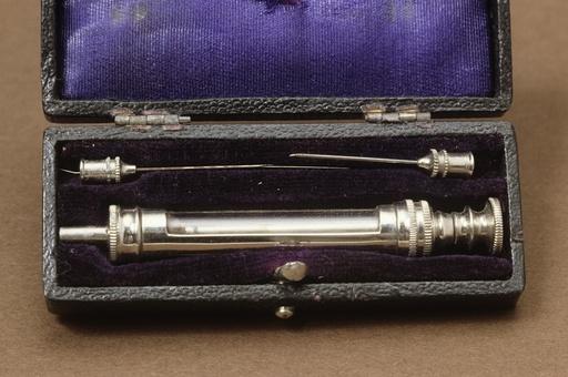 Hypodermic syringe, 19th century