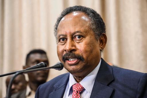 Sudans statsminister Abdalla Hamdok ble avsatt i et kupp mandag. Foto: AP / NTB