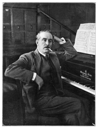 Puccini Leans on Piano