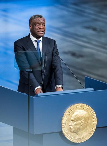 Nobels fredspris 2018 til Nadia Murad og Denis Mukwege